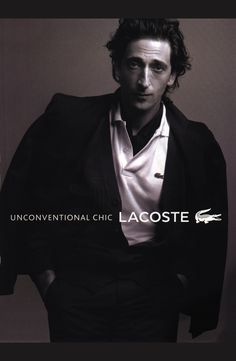 Adrian Brody for Lacoste