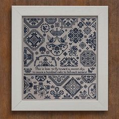 modernfolkembroidery:  New pattern, available now at modernfolkembroidery.com :))  Modern Folk Embroidery provides #crosstitch #patterns and #embroidery and #craft #materials inspired by centuries of #ArtsAndCrafts