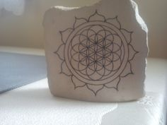 Flower of the Eternity - craft made in stone.