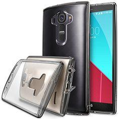LG G4 Funda - Ringke FUSION ***COMPATITLE Con LG G4 CUERO*** [Protector de Pantalla Gratuito][SMOKE BLACK][Todo Nuevo Polvo Tapa Libre & Caída Protección] Prima Crystal Clear Back Absorción de Choque de Parachoques del Funda Duro con Protección de Pantalla HD Gratis para para LG G4 - Eco/DIY Paquete - http://www.tiendasmoviles.net/2016/01/lg-g4-funda-ringke-fusion-compatitle-con-lg-g4-cuero-protector-de-pantalla-gratuitosmoke-blacktodo-nuevo-polvo-tapa-libre-caida-pro