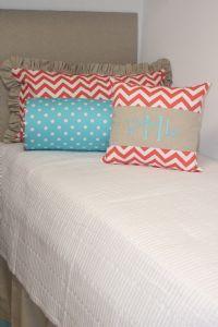 pillows and #dorm bedding