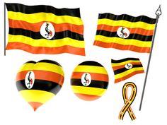 Uganda Flag, Html, My Love, My Boo