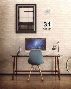 iStore.ua | Mac на рабочем столе V: компьютеры, улучшающие фотографии интерьеров