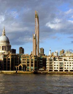 Arranha-céus mais alto do mundo construído em madeira projetado para Londres