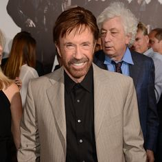 Even Chuck Norris thinks exercise keeps him young!