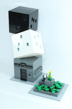 The Cubic House by evildead1980, via Flickr