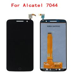 >> Click to Buy << For Alcatel 7044 OT-7044 LCD Display Touch Screen 100% Original Quality Screen Digitizer Assembly Replacement Mobile Phone LCDs #Affiliate