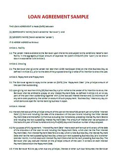 download loan contract template with crucial details to note loan contract template is one