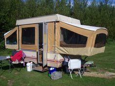 85 Best Cosy caravans images | Caravans, Coleman, Tent trailer