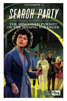 Amazing Nancy Drew-inspired posters for TBS' upcoming show, Search Party