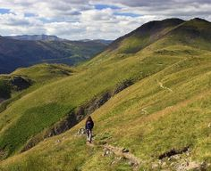 Coast to coast walk in the UK. St Bees to Robin Hood's bay