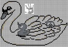 Mors dag i perler – Anja Takacs Hama Beads Patterns, Beading Patterns, Perler Bead Art, Perler Beads, Crochet Chart, Crochet Motif, Beaded Cross Stitch, Cross Stitch Patterns, Pearl Crafts