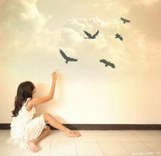 girl birds - Buscar con Google