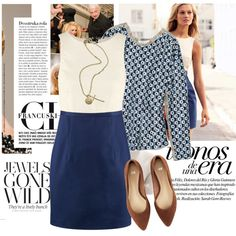 A fashion look from March 2012 featuring H&M dresses and H&M flats. Browse and shop related looks.