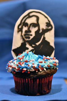 George Washington Cupcakes George Washington Cupcakes