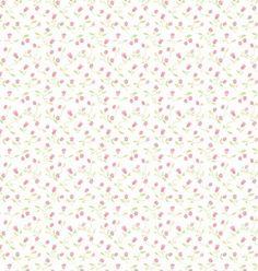 Papel de parede Nido Infantil 8706-1 flores vermelho - Site de tecidos para sofá, cortinas, papel de parede e móveis