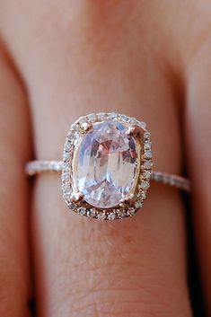 36 Utterly Gorgeous Engagement Ring Ideas engagement ring inspiration emerald cut halo rose gold See more: Unusual Engagement Rings, Engagement Ring Styles, Rose Gold Engagement Ring, Designer Engagement Rings, Engagement Photos, Bling Bling, Wedding Anniversary Rings, 50th Anniversary, Beautiful Wedding Rings
