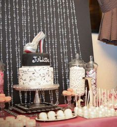 """40th Birthday party, """"Stepping Into Forty""""  