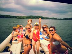 Getting down on the pontoon rental on Lake Minnetonka, MN.  Thank you to Bay-to-Bay Boat Club for making the pontoon ride possible!