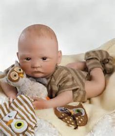 12a069c5fa11 Paradise Galleries Baby Doll that Looks Real - Hoot!