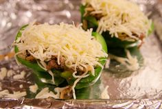 Simply Anchored: Philly Cheese Steak Stuffed Peppers