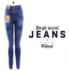 behery high waist jeans