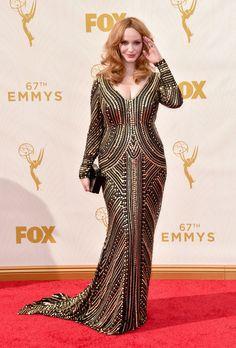 Christina Hendricks - Inspiring Body Positive Celebs Who Rock the Red Carpet - Photos