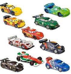 Disney / Pixar CARS 2 Movie Exclusive PVC 10Pack Deluxe Figurine Playset: Birthday gift