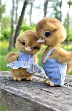 so cute yes ! Baby Animals Super Cute, Cute Wild Animals, Baby Animals Pictures, Cute Stuffed Animals, Cute Animal Drawings, Cute Little Animals, Cute Animal Pictures, Cute Funny Animals, Felt Animals
