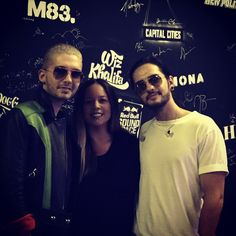 Thank you for coming by @kroq @TokioHotel ! You were sweet and fun and I will never forget you . Congrats on #KingsofSuburbia !