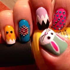 Christina's Easter Nails
