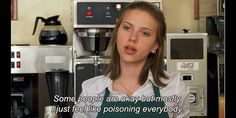 "Scarlett Johansson in the movie ""Ghost World"" - She speaks the truth!"