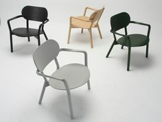 Castor low chair by Big-Game