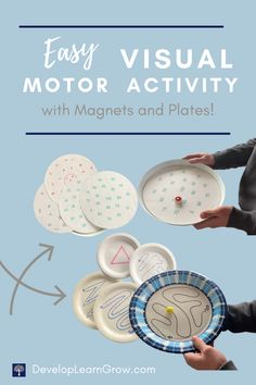 An Easy Visual Motor Activity Using Magnets - DEVELOP LEARN GROW