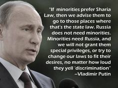 Wish our leadership were as wise as Putin obviously is.  Way, way smarter than our poor excuse for a president.