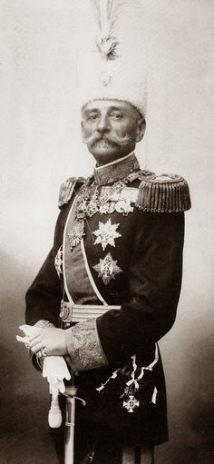 H.M. King Peter I of Serbia (1844-1921)   (became the first king of Yugoslavia in 1918 until his death in 1918)