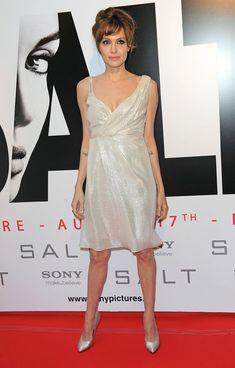 Angelina Jolie Photos - 'Salt' Paris Premiere - Zimbio