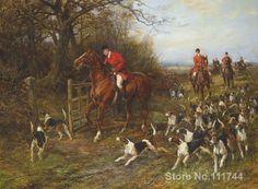 Resultado de imagen para ver imagenes de cazadores ingleses con sus jaurias de perros