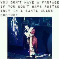 I will believe in santa again when Andy shows up in my living room in the middle of the night. Emo Bands, Music Bands, Rock Bands, Band Quotes, Band Memes, Bvb Fan, Black Veil Brides Andy, Andy Black, Falling In Reverse