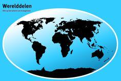 Werelddelen oefenen voor periode 3