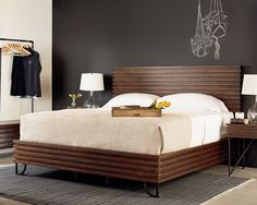 Boho Stacked Slat Bedroom - Magnolia Home