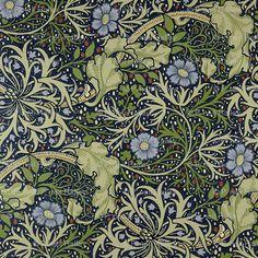 William Morris Seaweed design (neilepi - spoonflower)