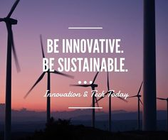 Reposting Be innovative. Be sustainable. Carrie Fisher, Space Crafts, Sustainability, Leadership, Innovation, Software, Like4like, Places To Visit, Environment
