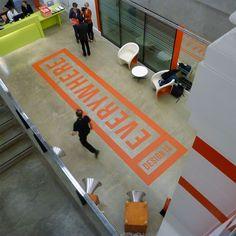 London Design Museum -Concrete Floor