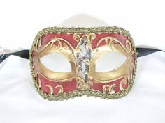 Venetian Masquerade Masks, Mardi Gras, Venice, Red, Stuff To Buy, Accessories, Venetian Masks