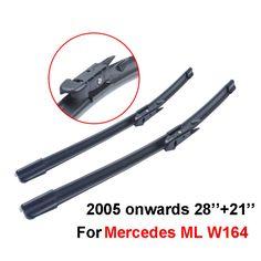 Front and Rear Blades JAZZ Hatchback Jul 2008 Onwards Windscreen Wiper Blade Set 3 x Blades