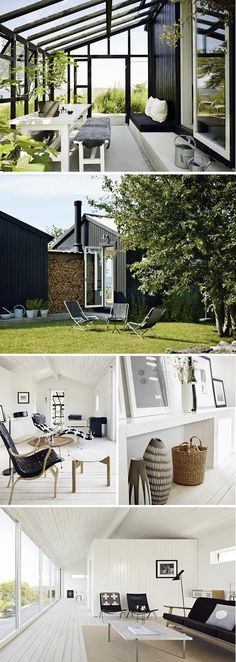 Summer house dream - Image from Trendenser. Exterior Design, Interior And Exterior, Outdoor Spaces, Outdoor Living, Ideas Terraza, Gazebos, My Dream Home, Home And Living, Future House