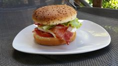 RECIPAY.COM - Burger Coeur de Lion et bacon