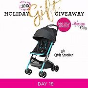 Holiday Gift Giveaway: Day 18 gb Qbit Stroller