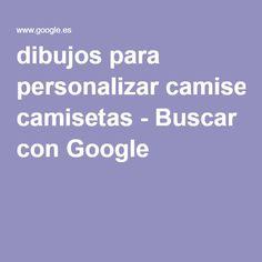 dibujos para personalizar camisetas - Buscar con Google